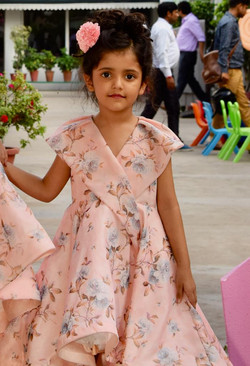 Wedding dress for kids