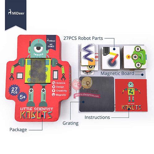 Mideer Little Scientists Robots Animation Puzzle
