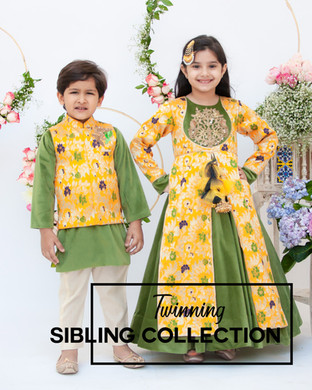 Sibling collection Ethnic wear