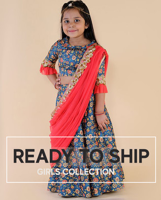 Ready to ship girls collection