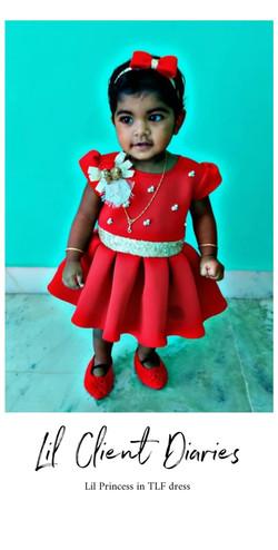 Tiana Red Dress