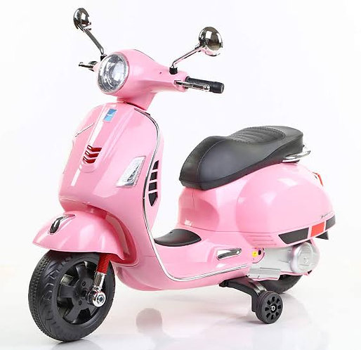 Licensed Vespa Ride On - Battery Operated with MP3/USB & Headlights