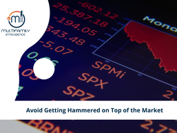 Avoid Getting Hammered on Top of the Market