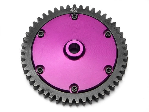 HPI 86807 - STEEL SPUR GEAR SET 49T