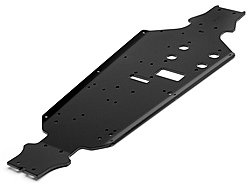 HPI 101791 - Alum. Anodized Chassis 7075 3mm Black