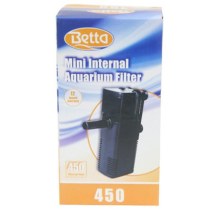 BETTA INTERNAL AQUARIUM FILTER 450L/H