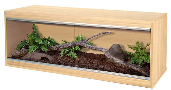 4074 Vivexotic Repti-Home Vivarium Large: Oak