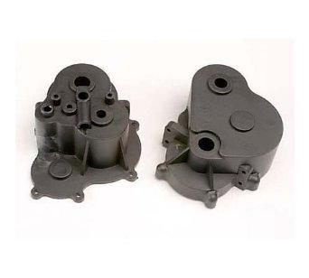 TRAXXAS 4991Gearbox halfs l&r/ rubber access plug