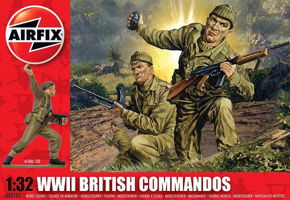 A02705 WWII British Commandos 1:32