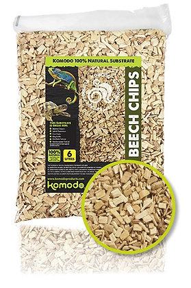 83010 Komodo Beech Chips Coarse 6L