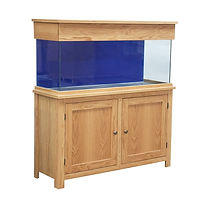 Clearseal Oak Aquarium Set 90 x 50 x 40cm