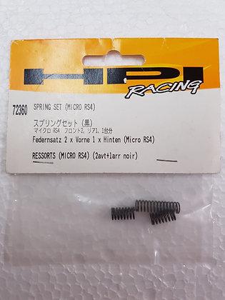 HPI #72360  SPRING SET MICRO RS4