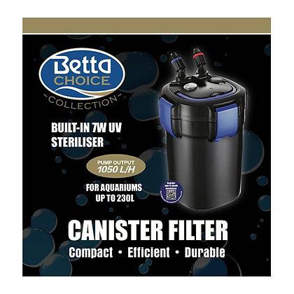 Betta 1050 UV Canister External Filter Upto 230L