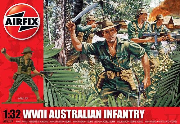 A02709 WWII Australian Infantry 1:32