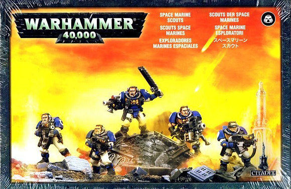 48-16 SPACE MARINE SCOUTS