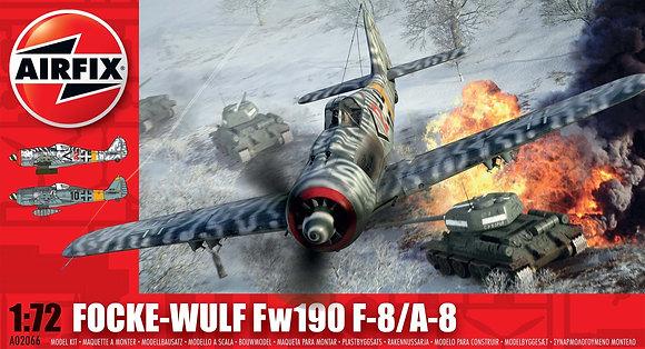 AIRFIX A02066 Focke Wulf Fw190 F-8/A-8 1:72
