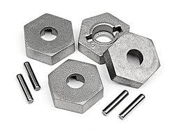 HPI 101190 - 17mm Hex and Pin Set (4pcs)