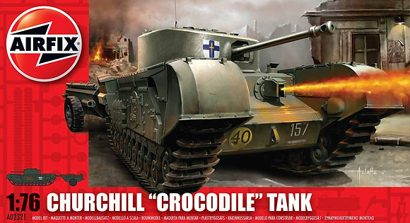 AIRFIX Churchill Crocodile Tank 1:76