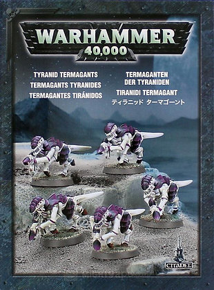 35-26 TYRANID TERMAGANTS. 5 MODELS