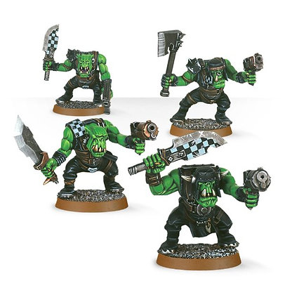 35-27 Ork Boyz (4 models)