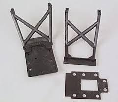 TRAXXAS 4133Skid plates l&r/ fiberglass transmiss