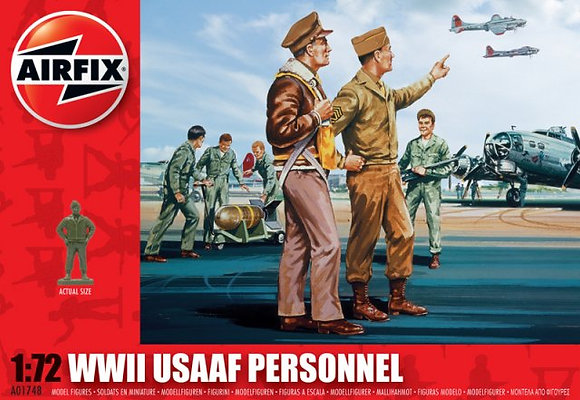 Airfix A01748 USAAF Personnel 1:72