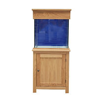 Clearseal Oak Aquarium Set 60 x 60 x 60c
