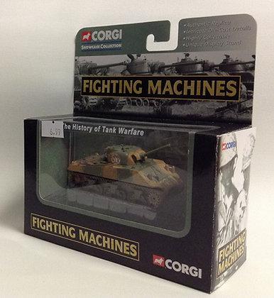 CORGI FIGHTING MACHINES. M4 SHERMAN TANK