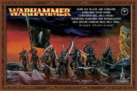 85-08 DARK ELF BLACK ARK CORSAIRS
