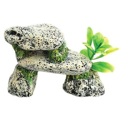 Betta Small Grey Stone Form