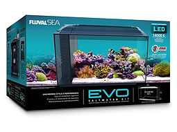 Fluval Sea Evo XII Glass Aquarium Kit 52 Litre Marine Aquarium