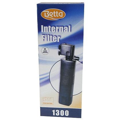 BETTA INTERNAL AQUARIUM FILTER 1300L/H