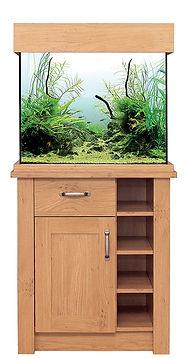 AquaOne Oak Style 110 Aquarium & Cabinet
