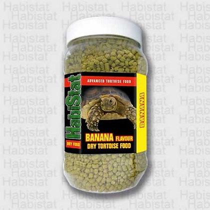 HabiStat Dry Tortoise Food. Banana. 350g