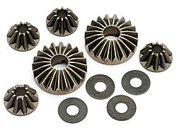 HPI 101142 - Hard Differential Gear Set Trophy 3.5