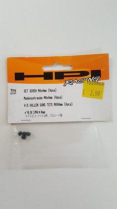 HPI z721 Set screw M4x4mm