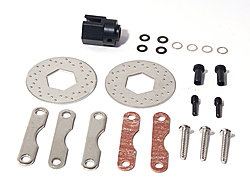 HPI 87150 - DUAL DISK BRAKE SET (STAINLESS STEEL)