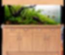 AquaOne Oak Style 300Aquarium & Cabinet