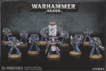48-07 SPACE MARINE TACTICAL SQUAD