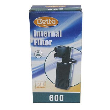 BETTA INTERNAL AQUARIUM FILTER 600L/H