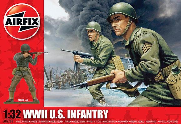 A02703 WWII U.S. Infantry 1:32