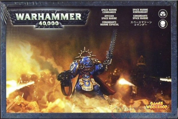 48-05 SPACE MARINE COMMANDER