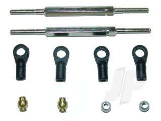 TM349Fr Suspension Arm Upper Rod - F&R L=80mm 9921