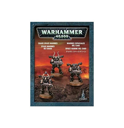 35-31 Chaos Space Marines (3 models)
