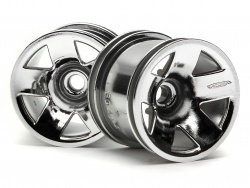 3042 - TYPE F5 TRUCK WHEEL (FRONT/CHROME)