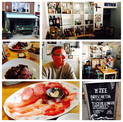 Terschelling, restaurant De Zee