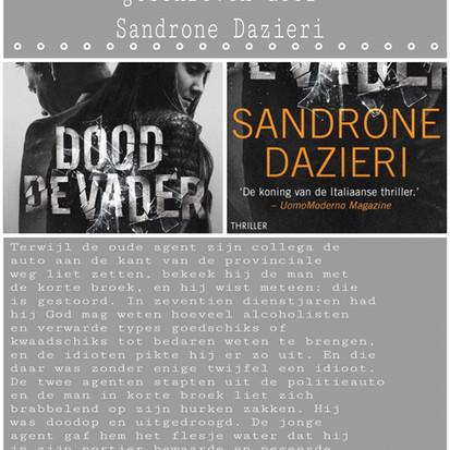 Boekquote uit 'Dood de vader' geschreven door Sandrone Dazieri
