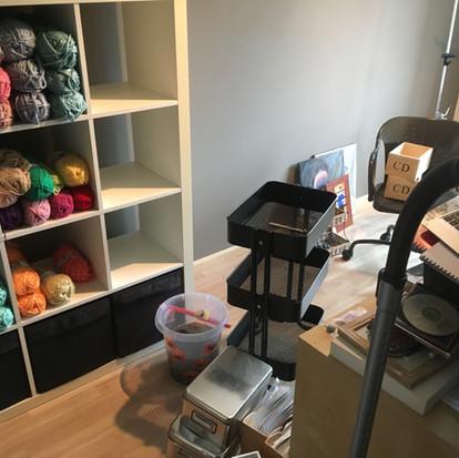 Opruimen, ruimte maken voor creativiteit