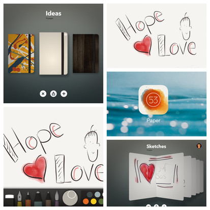 De app Paper by FiftyThree
