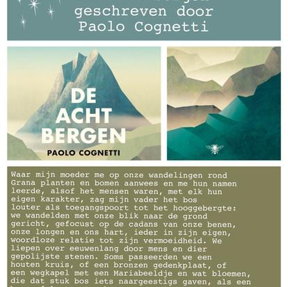 Boekquote uit 'De acht bergen' geschreven door Paolo Cognetti